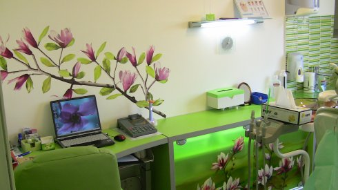 Dental West - Craiter - str.Harmanului ,nr.116 - cabinetul verde